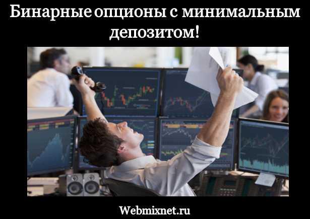 Бинарные опционы с минимальным депозитом в рублях с демо счетом