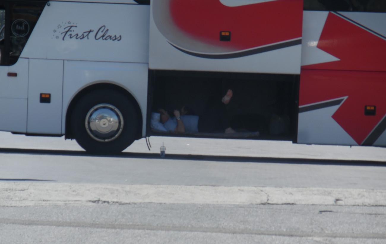 отдых в автобусе
